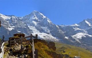 Tours of Switzerland View from Jungfrau