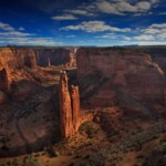 Spider Rock Canyon de Chelly, Arizona