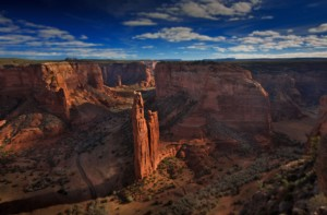 Spider Rock Canyon de Chelly AZ